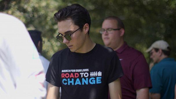 PHOTO: David Hogg was a senior at Marjory Stoneman Douglas High School when a gunman entered the school on Feb. 14, 2018. He has become the face of the 'Never Again' movement. (Evan Simon)