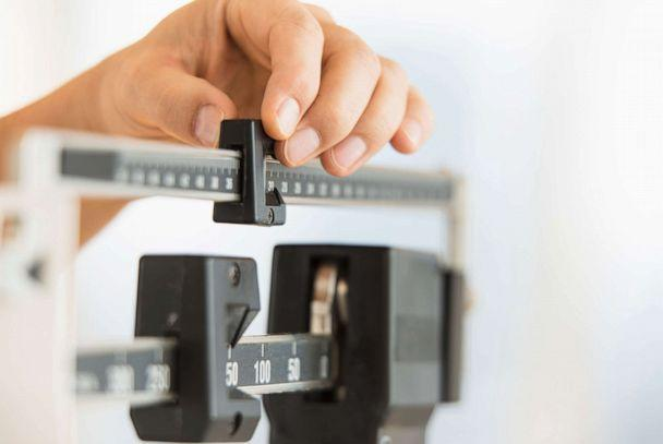 PHOTO: In this undated file photo, a person weighs themselves on a scale. (Getty Images, FILE)