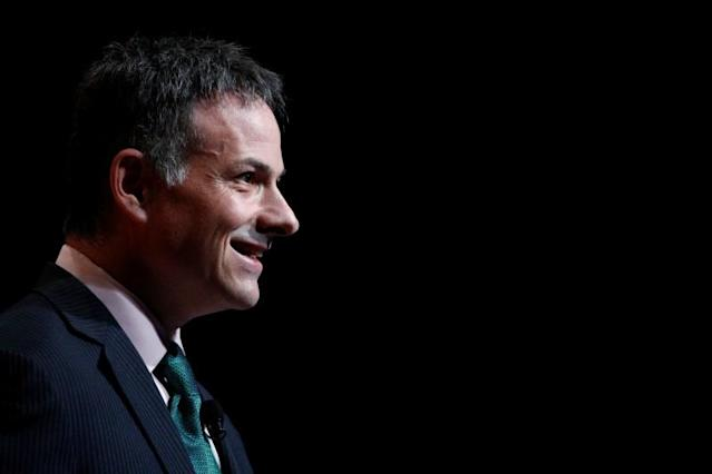 David Einhorn speaks at the Sohn Investment Conference in New York City, U.S. May 4, 2016. REUTERS/Brendan McDermid