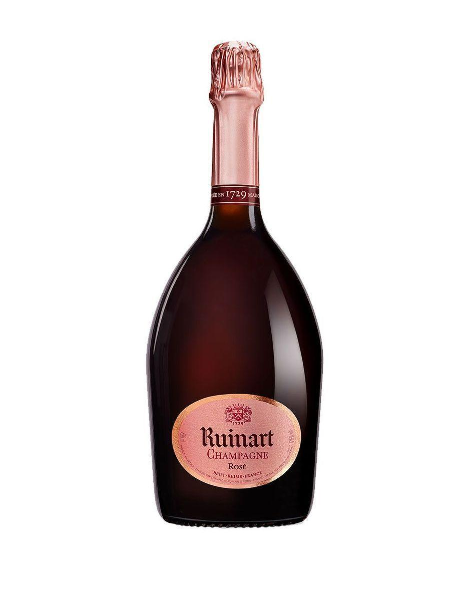 """<p><strong>Ruinart</strong></p><p>reservebar.com</p><p><strong>$88.00</strong></p><p><a href=""""https://go.redirectingat.com?id=74968X1596630&url=https%3A%2F%2Fwww.reservebar.com%2Fproducts%2Fruinart-rose&sref=https%3A%2F%2Fwww.townandcountrymag.com%2Fleisure%2Fdrinks%2Fnews%2Fg1319%2Fbest-rose-brands%2F"""" rel=""""nofollow noopener"""" target=""""_blank"""" data-ylk=""""slk:Shop Now"""" class=""""link rapid-noclick-resp"""">Shop Now</a></p><p>If you're looking to splurge on an unforgettable bottle of rosé Champagne, this is your best bet. """"Dating back to 1729, Ruinart makes a non vintage medium salmon in color rosé Champagne with [flavors of] underripe strawberries and fresh mint,"""" Slover explains. </p><p><strong>More: </strong><a href=""""https://www.townandcountrymag.com/leisure/drinks/a30140286/best-champagne-food-pairings/"""" rel=""""nofollow noopener"""" target=""""_blank"""" data-ylk=""""slk:The Best Foods to Pair with Champagne"""" class=""""link rapid-noclick-resp"""">The Best Foods to Pair with Champagne</a></p>"""