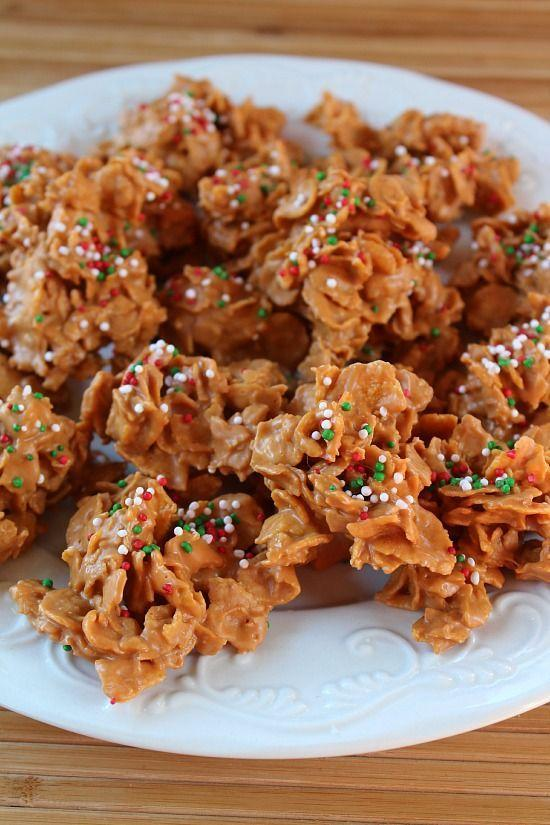"""<p>Not only do these butterscotch and peanut butter combos taste delicious, they'll make your home smell heavenly, too. </p><p><strong>Get the recipe at <a href=""""https://www.greatgrubdelicioustreats.com/butterscotch-crunchies/"""" rel=""""nofollow noopener"""" target=""""_blank"""" data-ylk=""""slk:Great Grub, Delicious Treats"""" class=""""link rapid-noclick-resp"""">Great Grub, Delicious Treats</a>.</strong> </p>"""