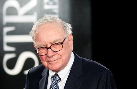 "FILE PHOTO - Investor Warren Buffet arrives for the premiere of the film ""Wall Street: Money Never Sleeps"" in New York"