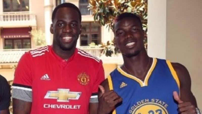 outlet store e312a f1bf8 PHOTOS: NBA Star Draymond Green Poses With Barcelona Jersey ...