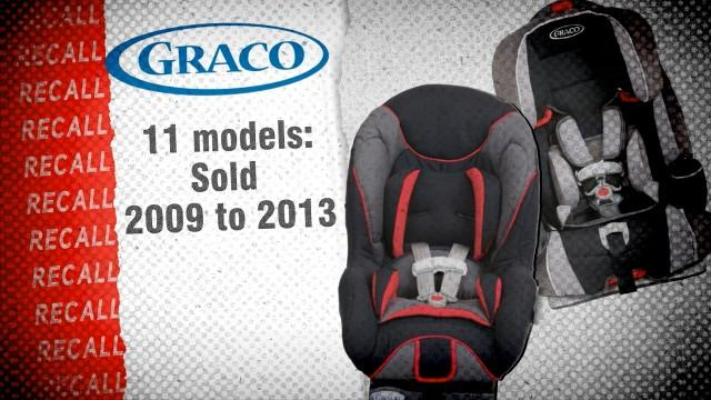 Graco Recalls 3.7 Million Child Car Seats at Request of NHTSA