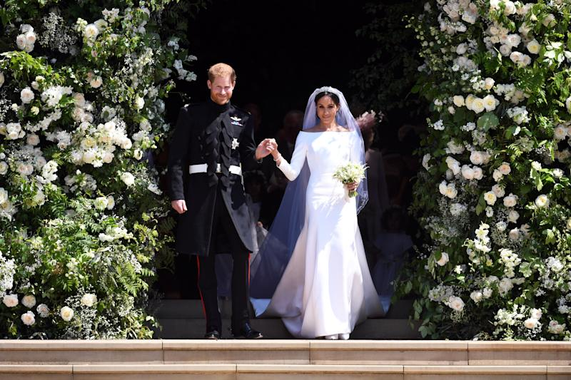 The Duke and Duchess of Sussex!  (POOL New / Reuters)