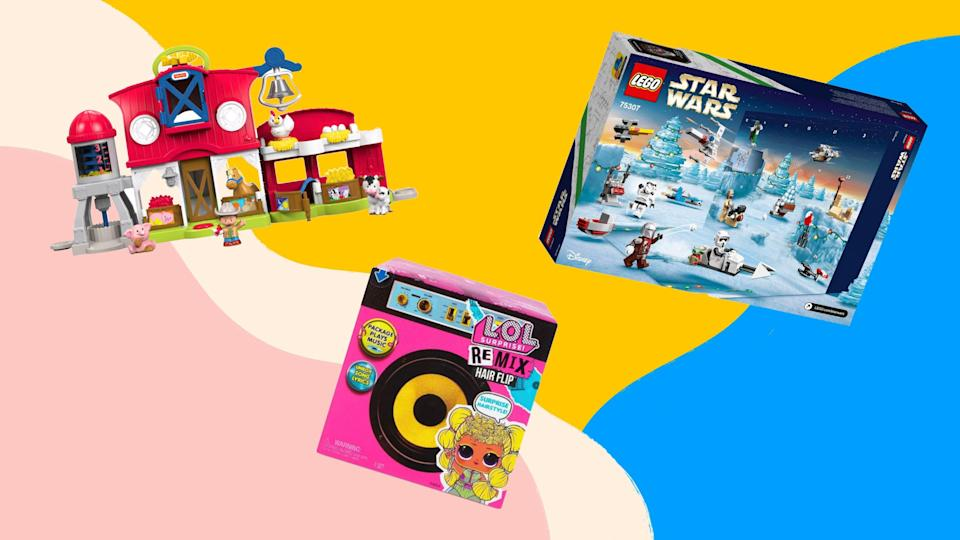 The time to start your holiday shopping is now, and Target is ready to get you started with deals on toys—including the coveted Star Wars Lego Advent calendar.