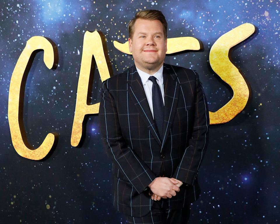 James Corden attends the world premiere of Cats in New York. (Photo: Taylor Hill via Getty Images)