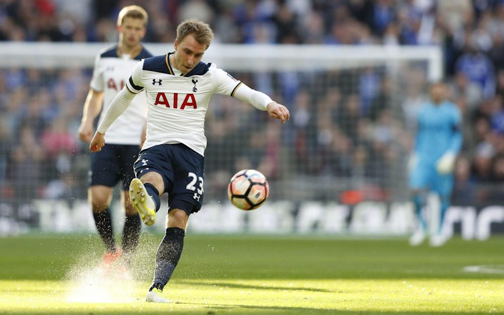 Christian Eriksen - Credit: Getty Images