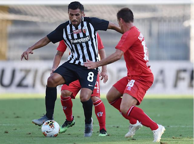 Petrucci is now playing for Ascoli in Italy's second tier. (Credit: Getty Images)