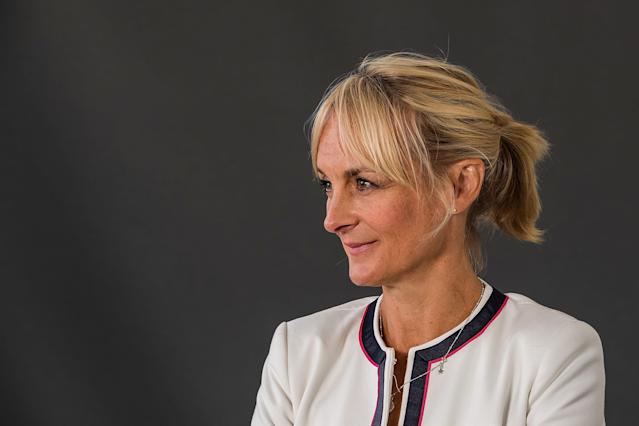 Louise Minchin has scaled back her use of social media. (Photo by Massimiliano Donati/Awakening/Getty Images)