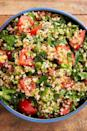"""<p>This Lebanese (or Syrian, depending who you ask 😉) salad is sure to improve whatever it's paired with. Bright, fresh herbs get friendly with sweet tomatoes and a sharp lemon dressing to create the salad equivalent of a breath of fresh air.</p><p>Get the <a href=""""https://www.delish.com/uk/cooking/recipes/a29843514/classic-tabouli-salad/"""" rel=""""nofollow noopener"""" target=""""_blank"""" data-ylk=""""slk:Tabbouleh Salad"""" class=""""link rapid-noclick-resp"""">Tabbouleh Salad</a> recipe.</p>"""