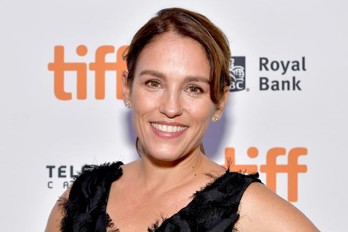 "TORONTO, ONTARIO - SEPTEMBER 05: Amy Jo Johnson attends the ""Tammy's Always Dying"" premiere during the 2019 Toronto International Film Festival at Scotiabank Theatre on September 05, 2019 in Toronto, Canada. (Photo by Emma McIntyre/Getty Images)"