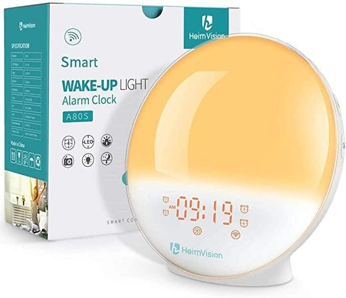 <p>If you have a hard time getting out of bed in the morning, the <span>heimvision Sunrise Alarm Clock</span> ($40) could be the gadget that saves the day!</p>