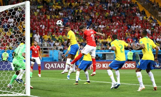 Brazil's Tite says Switzerland equaliser should have been ruled out