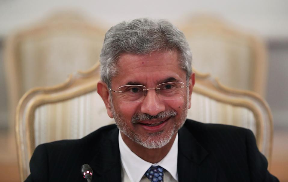 India's Foreign Minister Subrahmanyam Jaishankar meets his Russia's counterpart Sergei Lavrov (not pictured) in Moscow, Russia, August 28, 2019. REUTERS/Evgenia Novozhenina