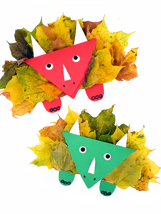 "<p>Dino-obsessed kids will get a kick out of this craft, which brings together leaves, a paper plate, and a few other materials to create a one-of-a-kind triceratops.</p><p><em><a href=""https://ourkidthings.com/fall-leaf-triceratops-craft/"" rel=""nofollow noopener"" target=""_blank"" data-ylk=""slk:Get the tutorial at Our Kid Things »"" class=""link rapid-noclick-resp"">Get the tutorial at Our Kid Things »</a></em></p>"