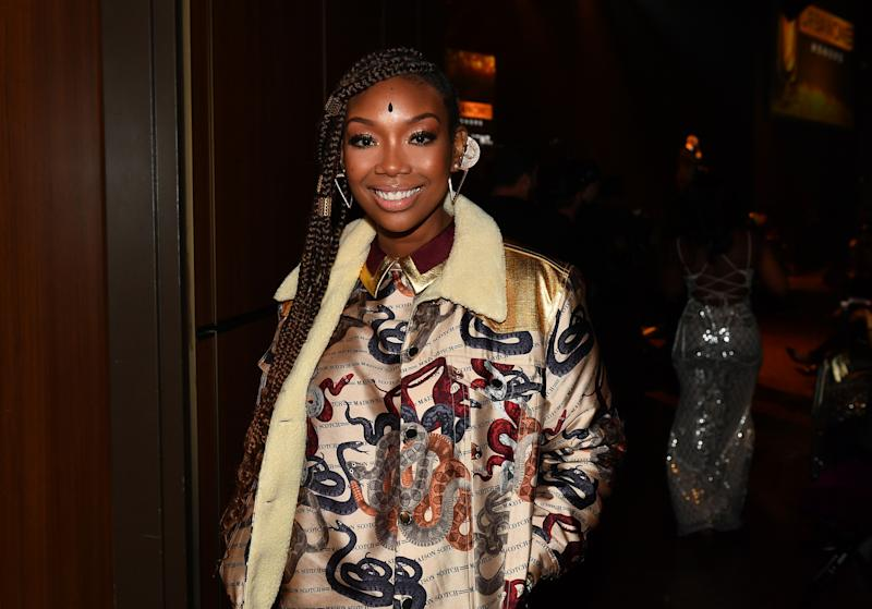 Brandy recently spoke with The Guardian to reflect on her career. (Photo: Getty)