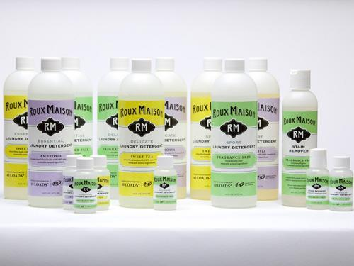 """<div class=""""caption-credit""""> Photo by: Courtesy of Roux Maison</div><div class=""""caption-title"""">Roux Maison</div>Essential oils from lavender and citrus fruits fragrance Roux Maison's concentrated detergents (a little goes a long way). If you have kids who play sports, check out the specialized products for workout gear and swimwear. <br> <br> <i>($8.99-$14.99 each, rouxmaison.com)</i> <br> <br> <b>Plus: <br> <a href=""""http://www.countryliving.com/homes/how-to-clean-white?link=rel&dom=yah_life&src=syn&con=blog_countryliving&mag=clg"""" rel=""""nofollow noopener"""" target=""""_blank"""" data-ylk=""""slk:How to Clean Everything White »"""" class=""""link rapid-noclick-resp"""">How to Clean Everything White »</a> <br> <a href=""""http://www.countryliving.com/antiques/ways-to-declutter-antiques?link=rel&dom=yah_life&src=syn&con=blog_countryliving&mag=clg"""" rel=""""nofollow noopener"""" target=""""_blank"""" data-ylk=""""slk:7 Ways to Declutter Your Antiques Pile »"""" class=""""link rapid-noclick-resp"""">7 Ways to Declutter Your Antiques Pile »</a></b>"""