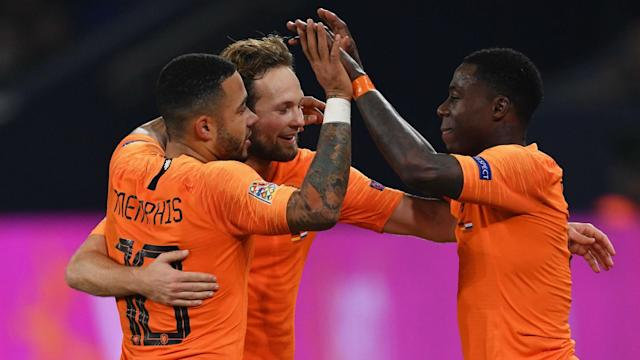 Memphis Depay scored two and got a pair of assists as Netherlands beat Belarus 4-0 to start Euro 2020 qualifying in victorious fashion.