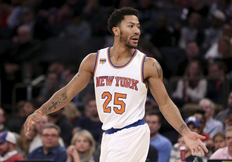 Derrick Rose is averaging 17.3 points this season. (AP)