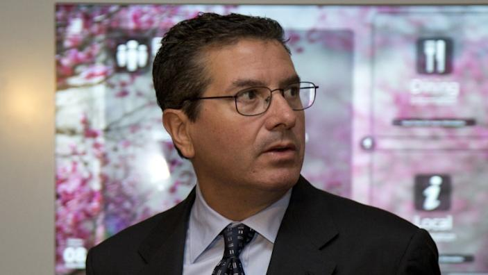 "Washington Football Team owner Daniel Snyder claims the franchise tried to cooperate with Washington Post reporting. <span class=""copyright"">(Carolyn Kaster / Associated Press)</span>"