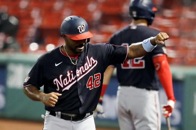 Nationals put Kendrick on 10-day IL with strained hamstring