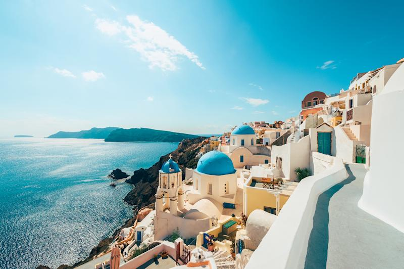 Santorini in Greece. Image: Supplied