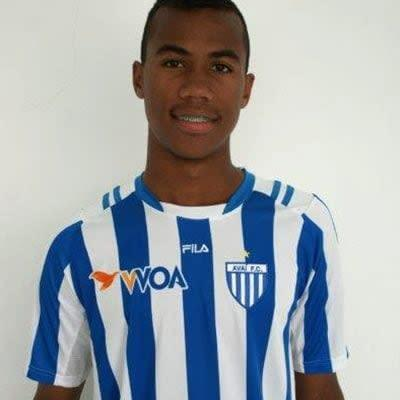 Gabriel pictured here at age 16 - Alceu Atherino Neves/Alceu Atherino Neves / Avaí FC