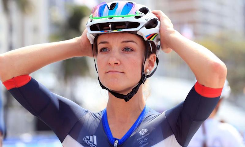 Lizzie Armitstead, the reigning Commonwealth road race champion.