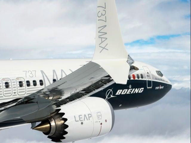 <p>Max jet: the latest version of the Boeing 737</p> ( Boeing)