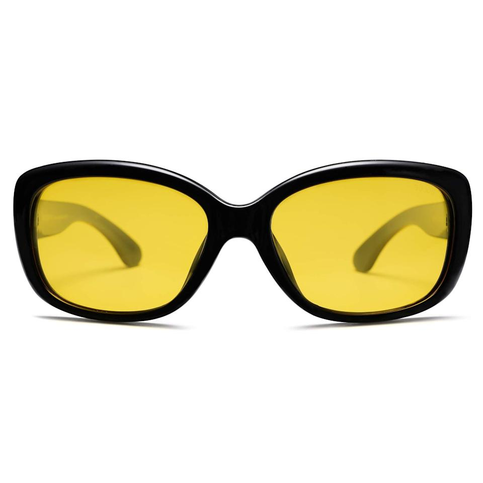 """<h2>SOJOS Polarized UV Protection Havana Frame </h2><br>The only thing you need to know is that Harry Styles and Jhope have worn a similar pair. You are welcome. <br><br><strong>The Hype:</strong> 4.6 out of 5 stars and 1,415 reviews<br><br><strong>What They Are Saying:</strong> """"I love these!! The glasses are lightweight, do not slip, or need to be adjusted. They do a great job blocking out the sun and look very fashionable."""" —Amazon Reviewer <br><br><em>Shop<strong><a href=""""https://amzn.to/3gpLrUS"""" rel=""""nofollow noopener"""" target=""""_blank"""" data-ylk=""""slk:Sojos"""" class=""""link rapid-noclick-resp""""> Sojos</a></strong></em><br><br><strong>Sojos</strong> SOJOS Vintage Square Sunglasses for Women Polarized UV Protection Havana Frame SJ2111, $, available at <a href=""""https://amzn.to/3xewz19"""" rel=""""nofollow noopener"""" target=""""_blank"""" data-ylk=""""slk:Amazon"""" class=""""link rapid-noclick-resp"""">Amazon</a>"""