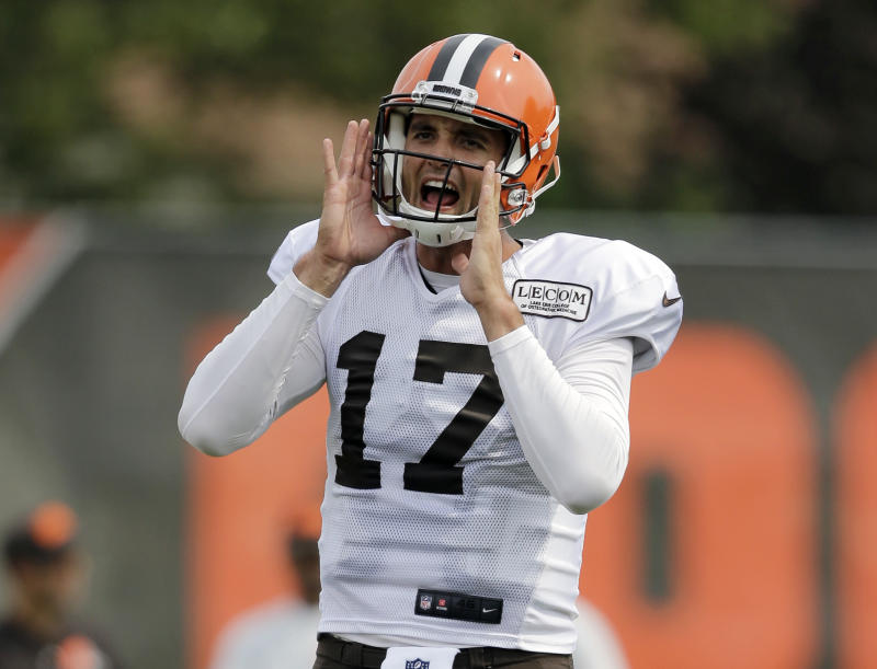 Three years ago, the Cleveland Browns traded for Brock Osweiler in a fairly historic and innovative trade. (AP Photo/Tony Dejak)