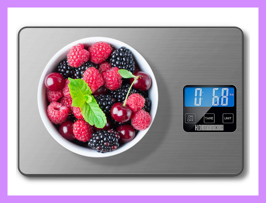 This digital kitchen scale measures up! (Photo: Amazon)