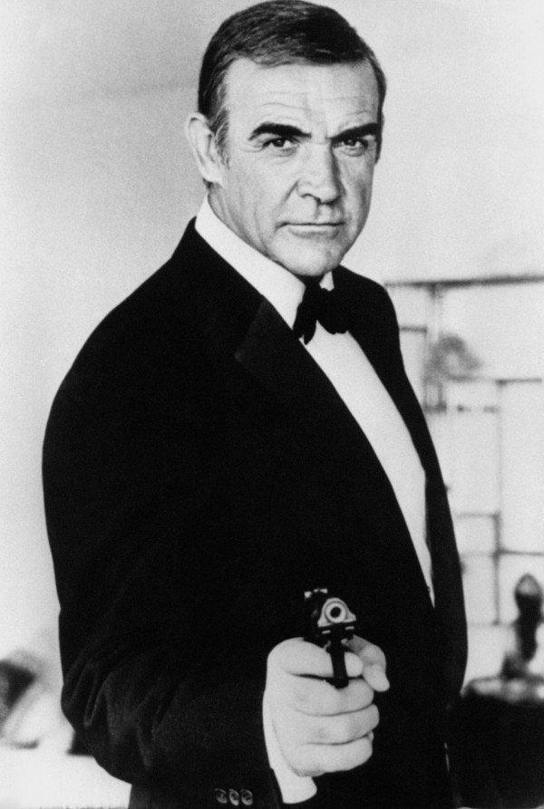 Sean Connery as James Bond (PA)