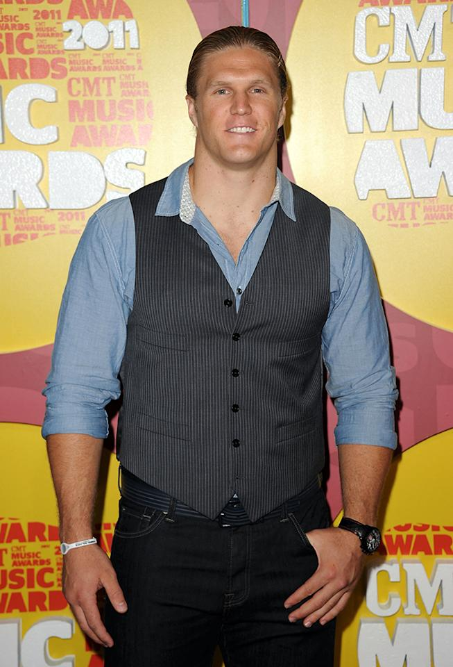 Clay Matthews attends the 2011 CMT Music Awards at the Bridgestone Arena on June 8, 2011 in Nashville, Tennessee.  (Photo by Jason Merritt/Getty Images)