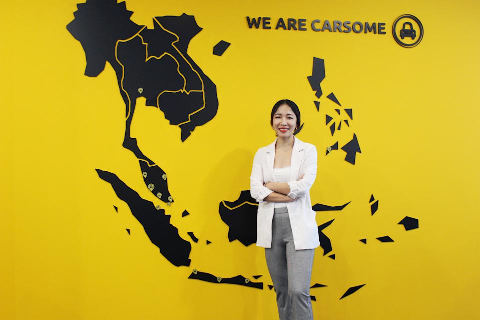 Juliet Zhu, Chief Financial Officer at Carsome. (PHOTO: Carsome)