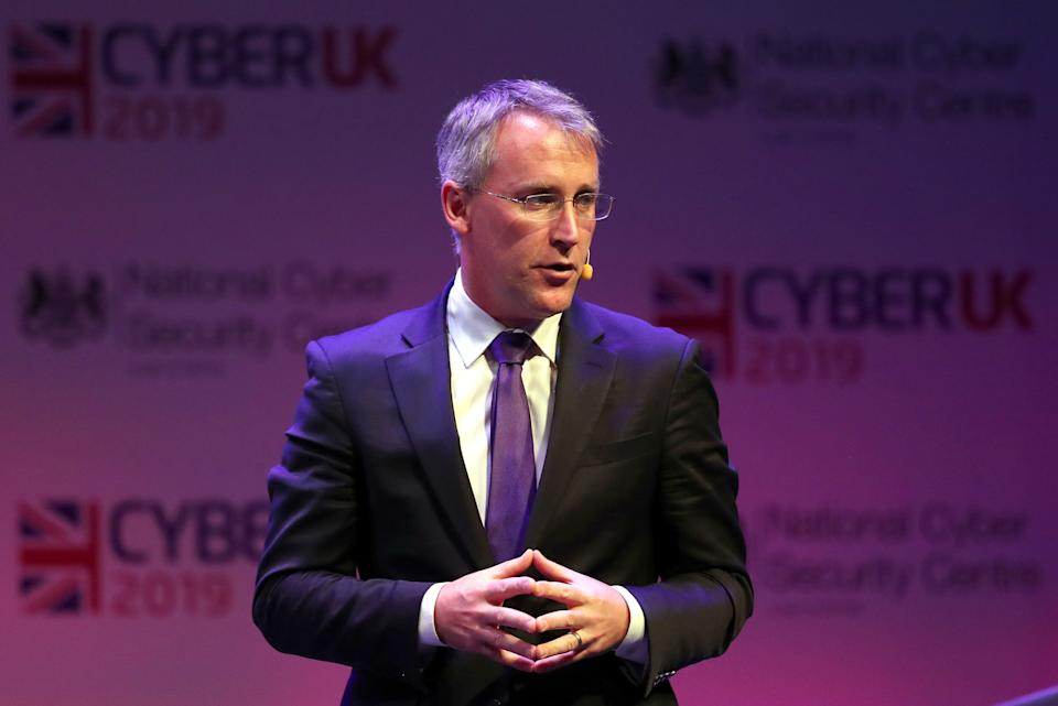 Ciaran Martin (UK National Cyber Security Centre) during CYBERUK held at the Scottish Event Campus in Glasgow. (Photo by Andrew Milligan/PA Images via Getty Images)