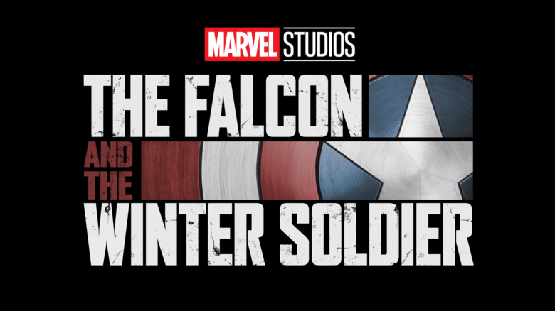 Marvel Studios The Falcon and the Winter Soldier movie logo.