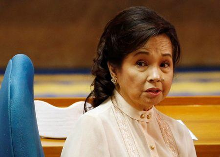 Former President and Congresswoman Gloria Macapagal Arroyo, attends the opening of the Philippine Congress in Quezon city, Metro Manila