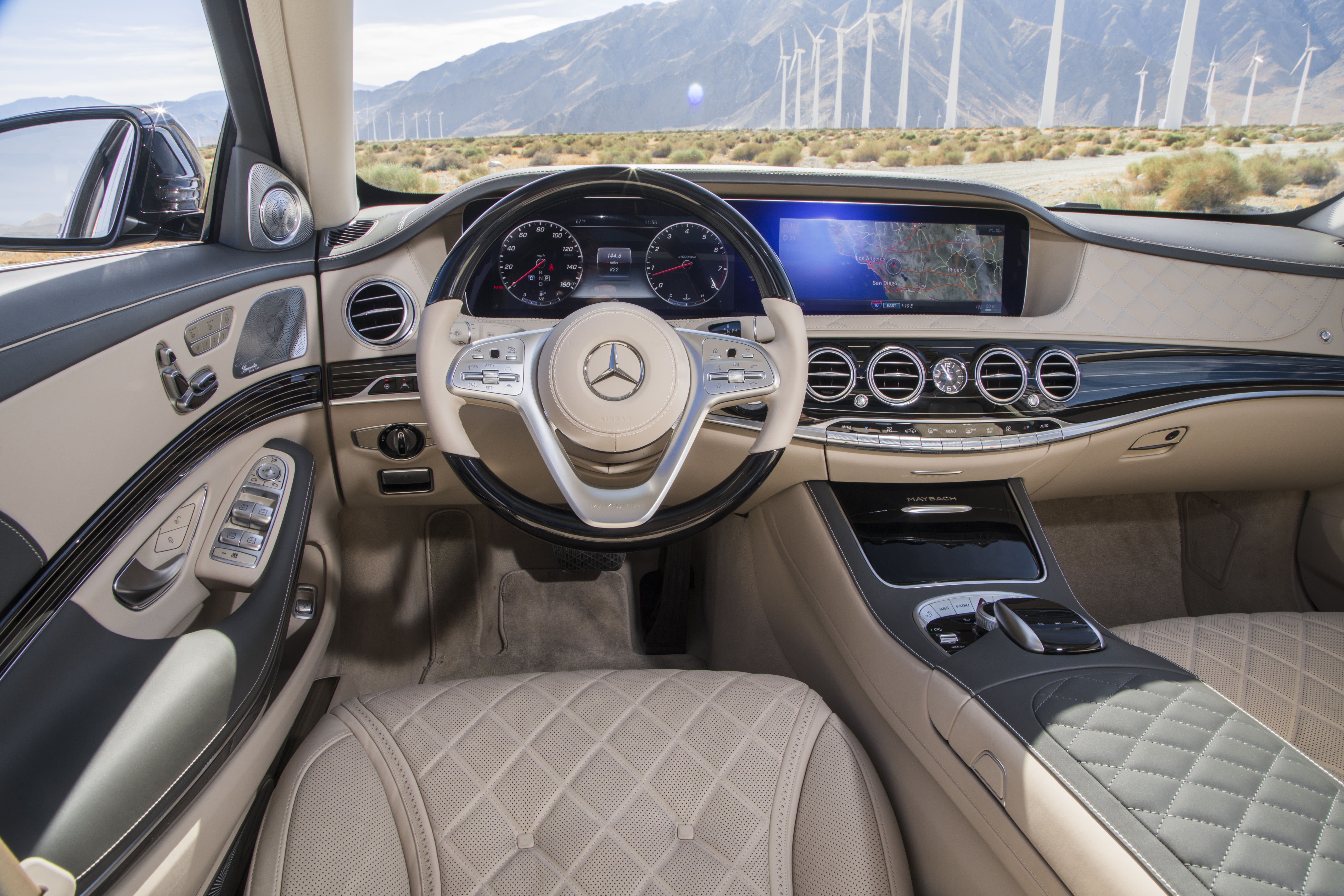 Regular S-class not enough? Try the Mercedes-Maybach S560 [Video]