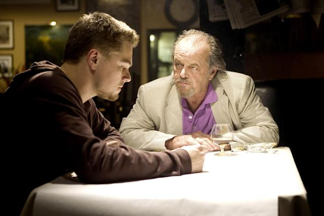 "<p><a href=""http://www.instyle.com/celebrity/jack-nicholson"" rel=""nofollow noopener"" target=""_blank"" data-ylk=""slk:Jack Nicholson"" class=""link rapid-noclick-resp"">Jack Nicholson</a> plays an Irish mob leader, inspired by real life mobster James ""Whitey"" Bulger in this quintessential Boston film starring <a href=""http://www.instyle.com/celebrity/leonardo-dicaprio"" rel=""nofollow noopener"" target=""_blank"" data-ylk=""slk:Leonardo DiCaprio"" class=""link rapid-noclick-resp"">Leonardo DiCaprio</a> as an undercover cop trying to take him down.</p>"