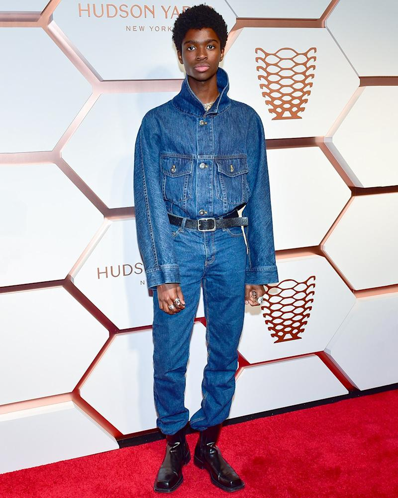OK, you don't have to be a superstar-in-the-making like Alton Mason to pull off the Canadian tuxedo—but it doesn't hurt.