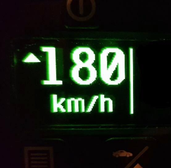 People were not happy with the driver who was caught going 180km/h in a 70km/h zone. Source: Traffic and Highway Patrol Command - NSW Police Force/Facebook