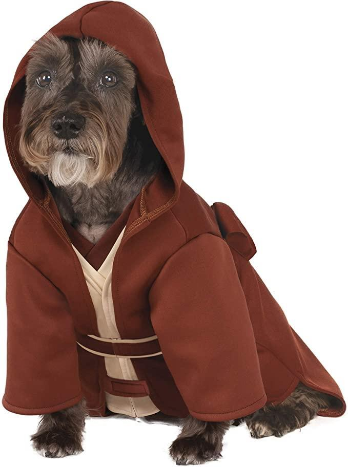best star wars costumes - Classic Jedi Robe Costume for Pets