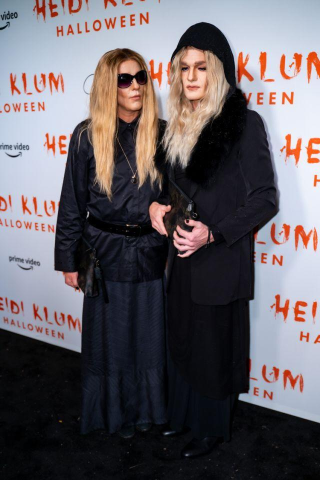 Harris und Ehemann David Burtka kamen zu Heidi Klums spektakulärer Party als Mary-Kate und Ashley Olsen.