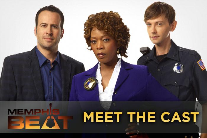 "The new series ""<a href=""/memphis-beat/show/45862"">Memphis Beat</a>"" centers on quirky Memphis police detective Dwight Hendricks, played by Jason Lee, but Lee isn't the only familiar face in the show's cast. DJ Qualls costars as Davey Sutton, Hendricks' protégé, and Alfre Woodard appears as their demanding boss, Lt. Tanya Rice. Click through this slideshow to learn more about them and the rest of the cast."