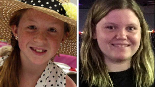 PHOTO: Abigail 'Abby' Williams, left, and Liberty 'Libby' German are pictured in undated handout photos. (Handout via WLFI)