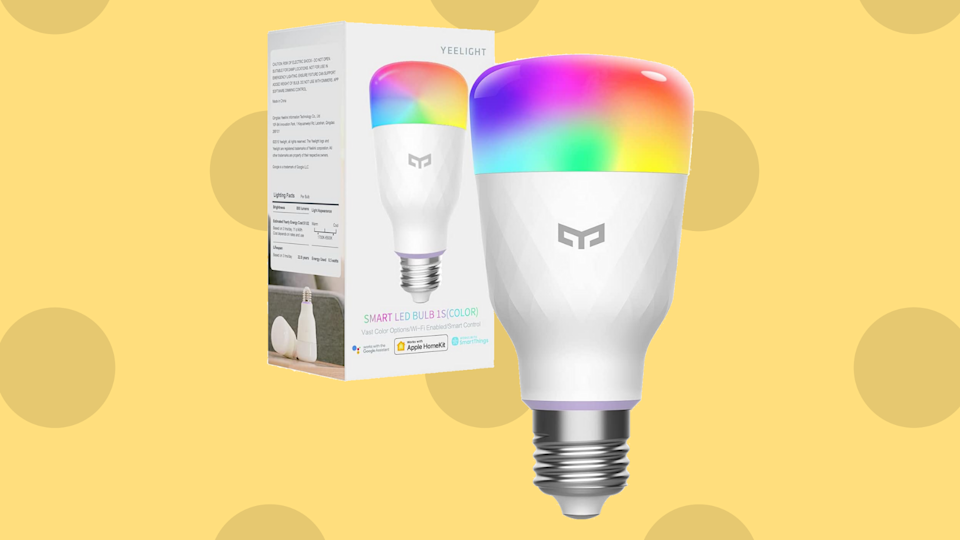 Buying this smart LED light bulb is a good idea, especially at half off! (Photo: Amazon)