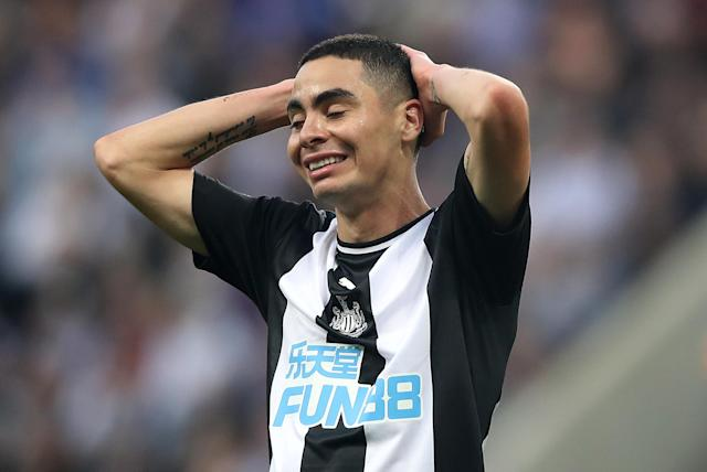 Newcastle United's Miguel Almiron (Credit: Getty Images)