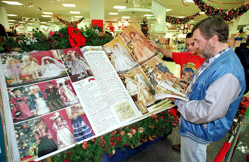 Sears' Iconic Christmas Gift Catalog Is Making a Comeback This